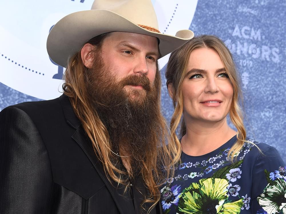 "Chris Stapleton Draws Onstage ""Strength"" From Wife Morgane"