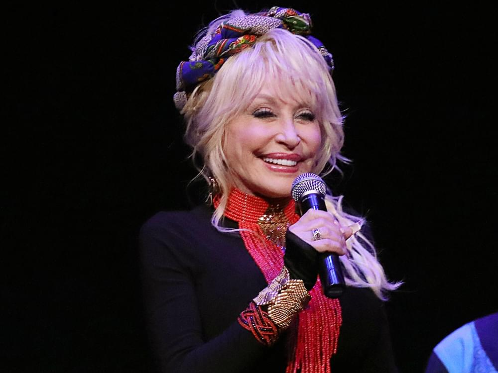 Dolly Parton Makes a Surprise Visit at Dedication Ceremony for Hometown Senior Center