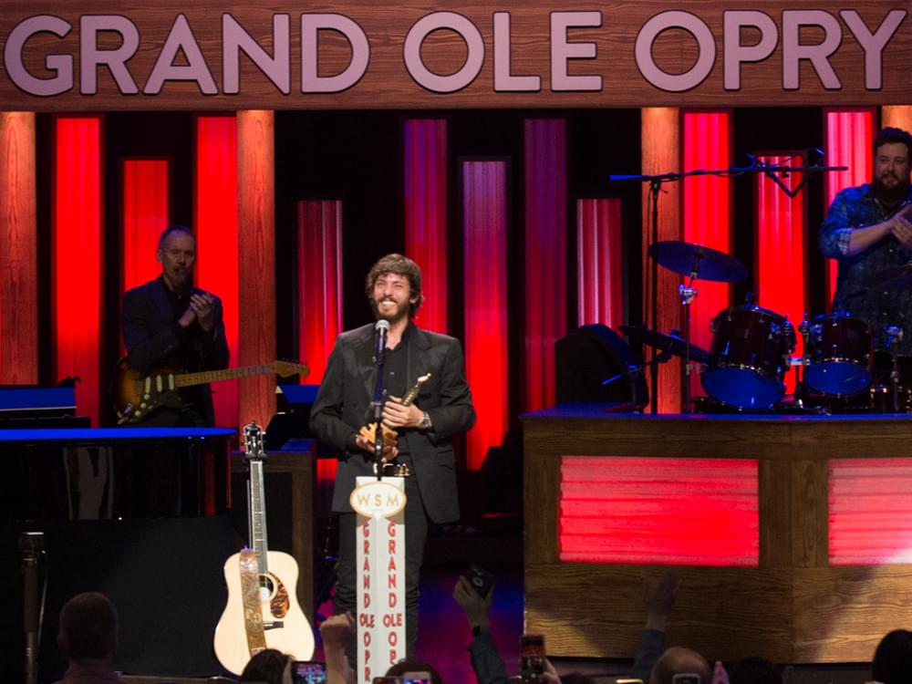 "Watch Chris Janson's ""Dreams Come True"" With Grand Ole Opry Induction"