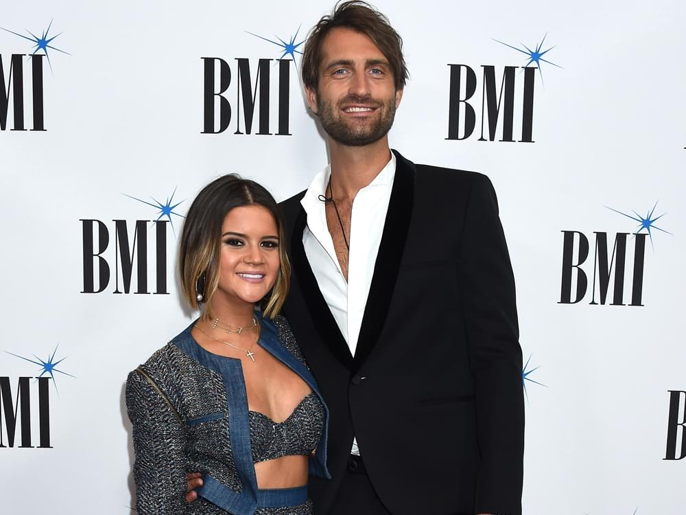 "Ryan Hurd Surprises Maren Morris With Engagement-Inspired Song, ""Diamonds or Twine"" [Listen]"