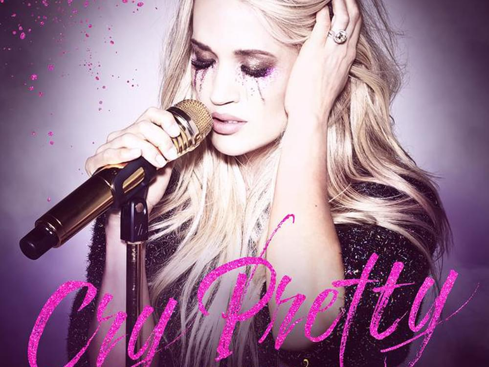 "Listen to Carrie Underwood's Emotional New Single, ""Cry Pretty"""