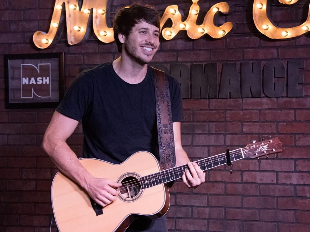 "Morgan Evans Announces ""10 in 10 Tour"""