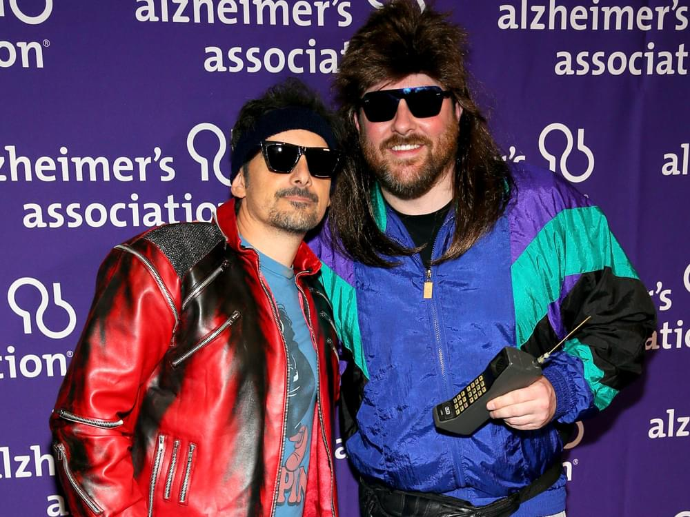 '80s Dance Party With Brad Paisley, Chris Young, Darius Rucker & Others Helps Raise More Than $340,000 for Alzheimer's Association