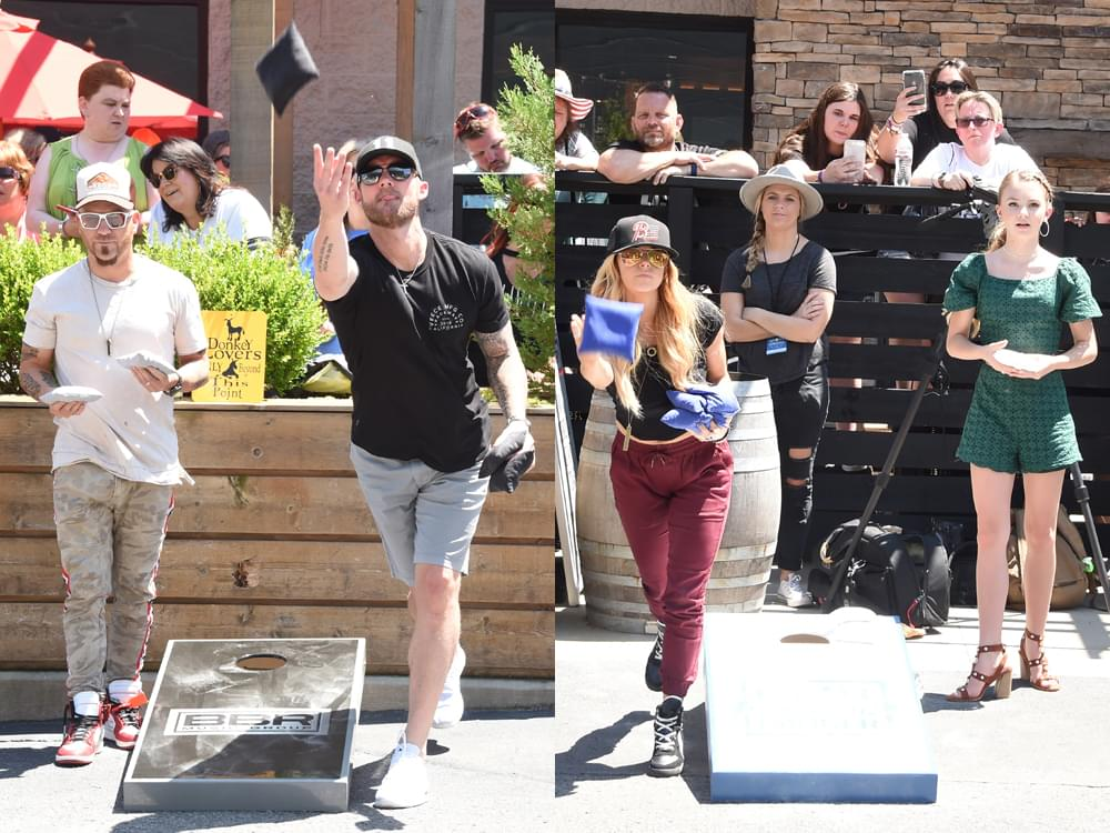 Stars Come Out as Craig Campbell Hosts 6th Celebrity Cornhole Challenge to Fight Colorectal Cancer [Photo Gallery]
