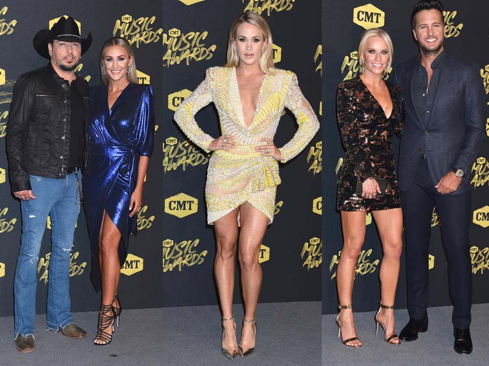 67 of Our Favorite Red Carpet Photos From the 2018 CMT Music Awards, Including Carrie Underwood, Luke Bryan, Jason Aldean & More