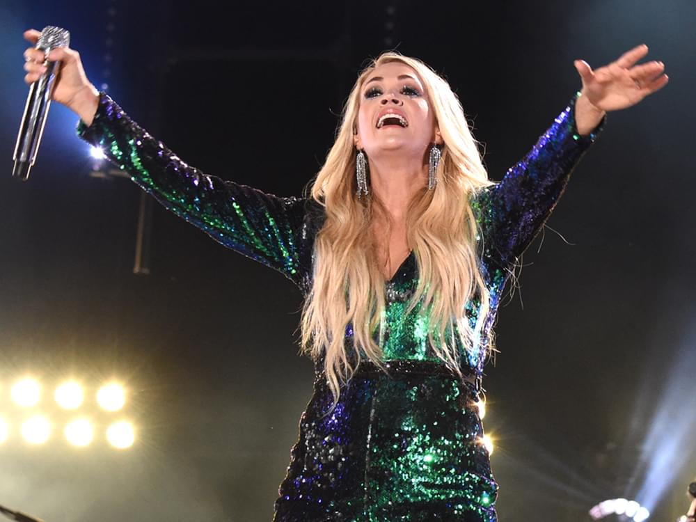 "Watch Carrie Underwood Celebrate 10th Anniversary as a Member of the Grand Ole Opry With ""Cry Pretty"" Performance"