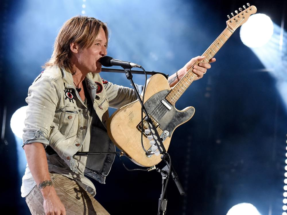 "Keith Urban ""Agrees"" to Jump Out of a Cake to Fulfill Loretta Lynn's Birthday Wish"