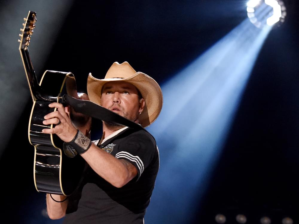 "Watch Jason Aldean's New Video for ""Drowns the Whiskey,"" Featuring Miranda Lambert"
