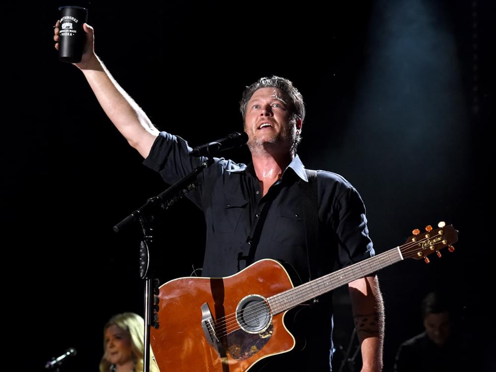 "Blake Shelton Has Some Fun on Twitter After Taking a Tumble Onstage: ""And Yes I Had Been Drinking"""