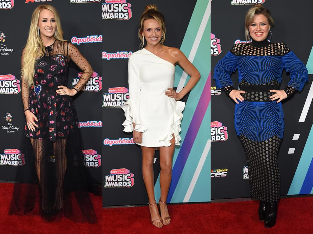 Photo Gallery: Radio Disney Awards Red Carpet, Including Carrie Underwood, Carly Pearce, Kelly Clarkson & More