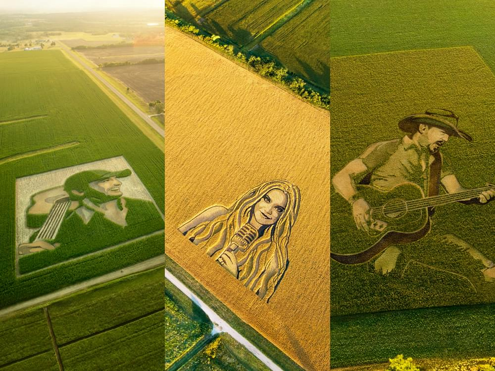Spotify Celebrates the Heartland With Crop Circle Designs of Luke Bryan, Kelsea Ballerini & Jason Aldean