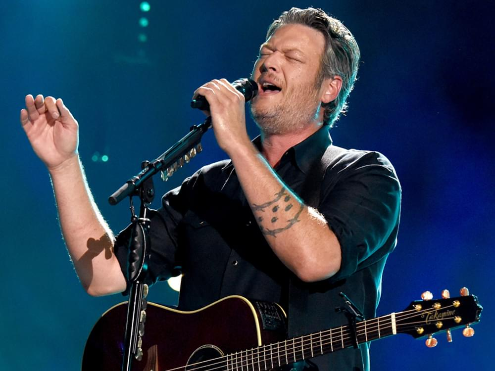 "Blake Shelton's Sultry New Single, ""Turnin' Me On,"" Was Inspired by Gwen Stefani [Listen]"