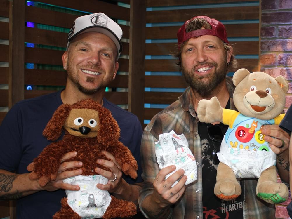 "Diaper Drive Initiative by ""Ty, Kelly & Chuck"" Gets Support From Locash, Chris Janson & More"