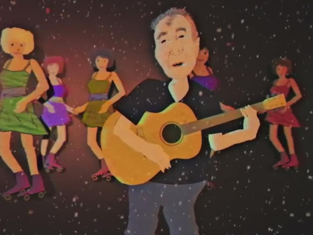 "Watch John Prine Get Animated in New ""Crazy Bone"" Video"