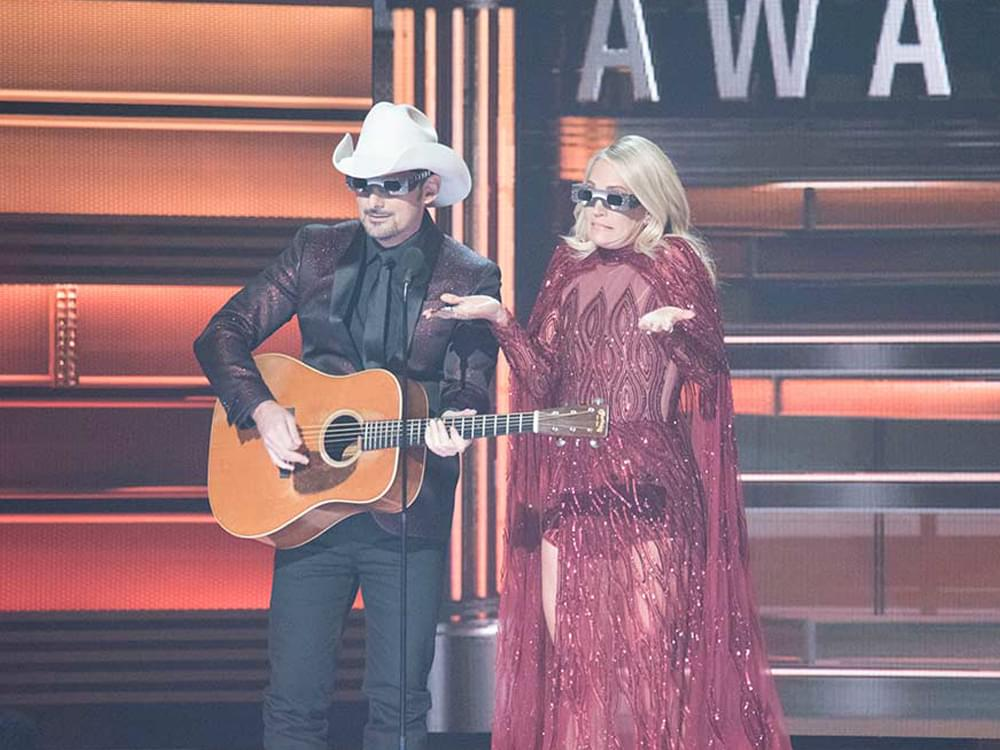 Brad Paisley & Carrie Underwood to Host CMA Awards for 11th Time on Nov. 14 [Nominations Coming Aug. 28]