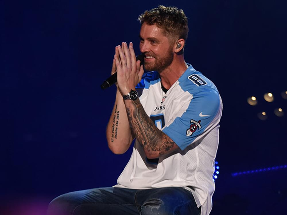 "Brett Young Finds the Top of the Country Charts for the 4th Time as ""Mercy"" Hits No. 1"
