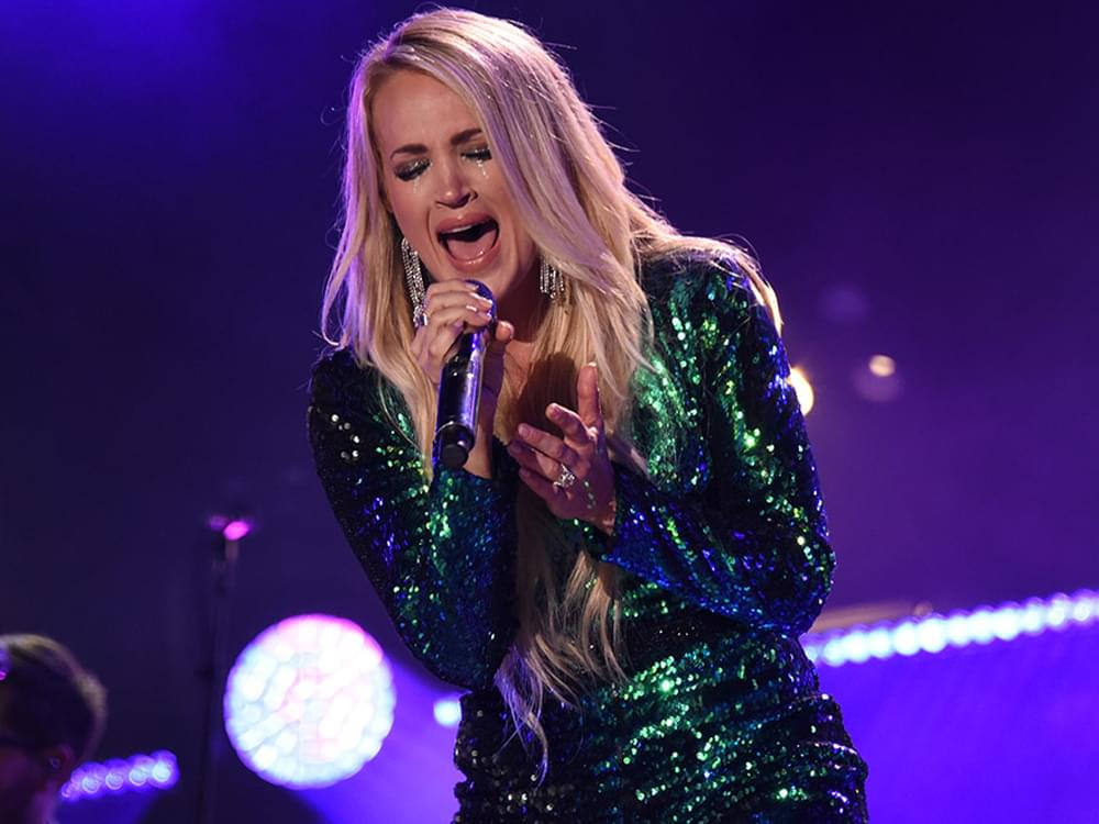 "Carrie Underwood to Launch All-Female ""Cry Pretty Tour 360"" in May"