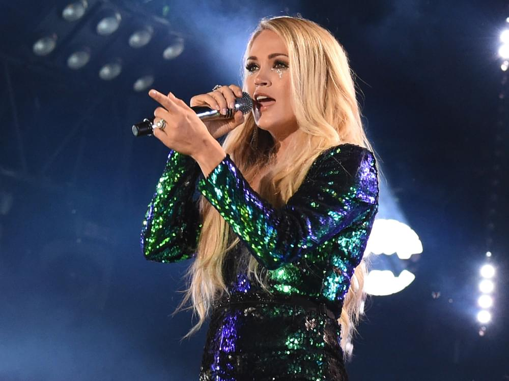 "Carrie Underwood Guests on Upcoming Episode of ""Women Want to Hear Women"" Podcast: ""Women Are Not Getting the Same Opportunities"""
