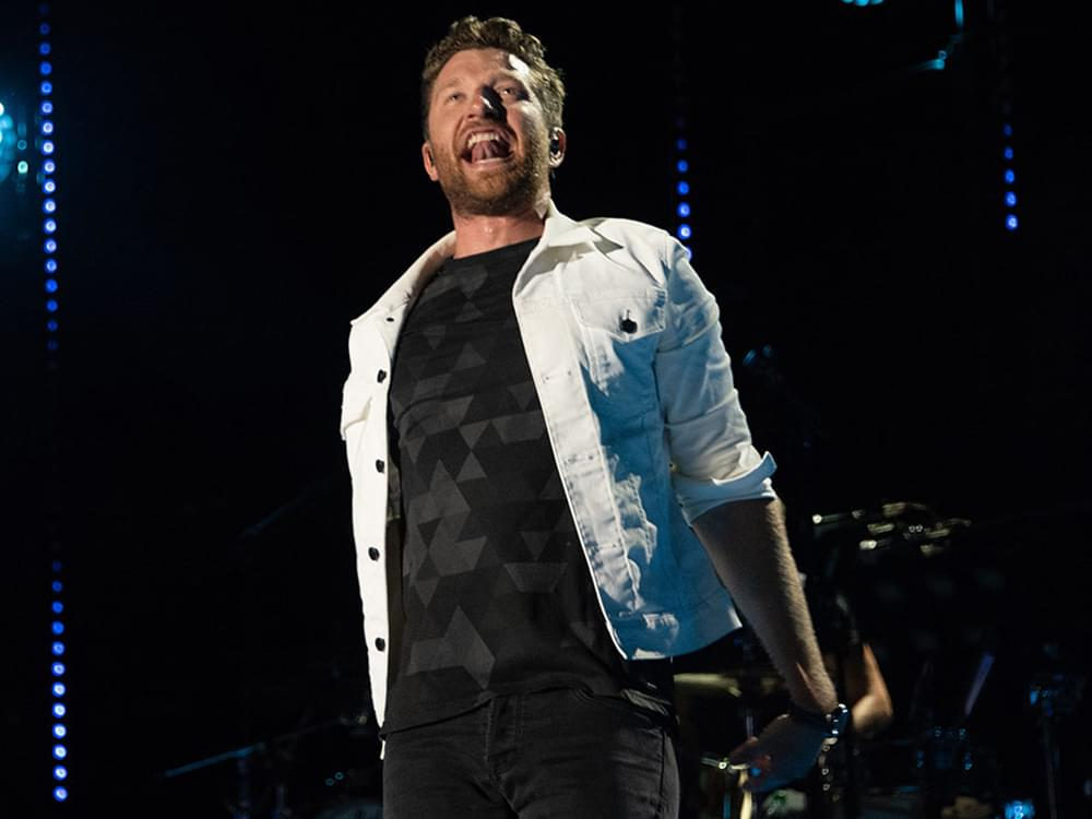 "Watch Brett Eldredge Team With Meghan Trainor to Sing ""All About That Bass"" & ""Islands in the Stream"""