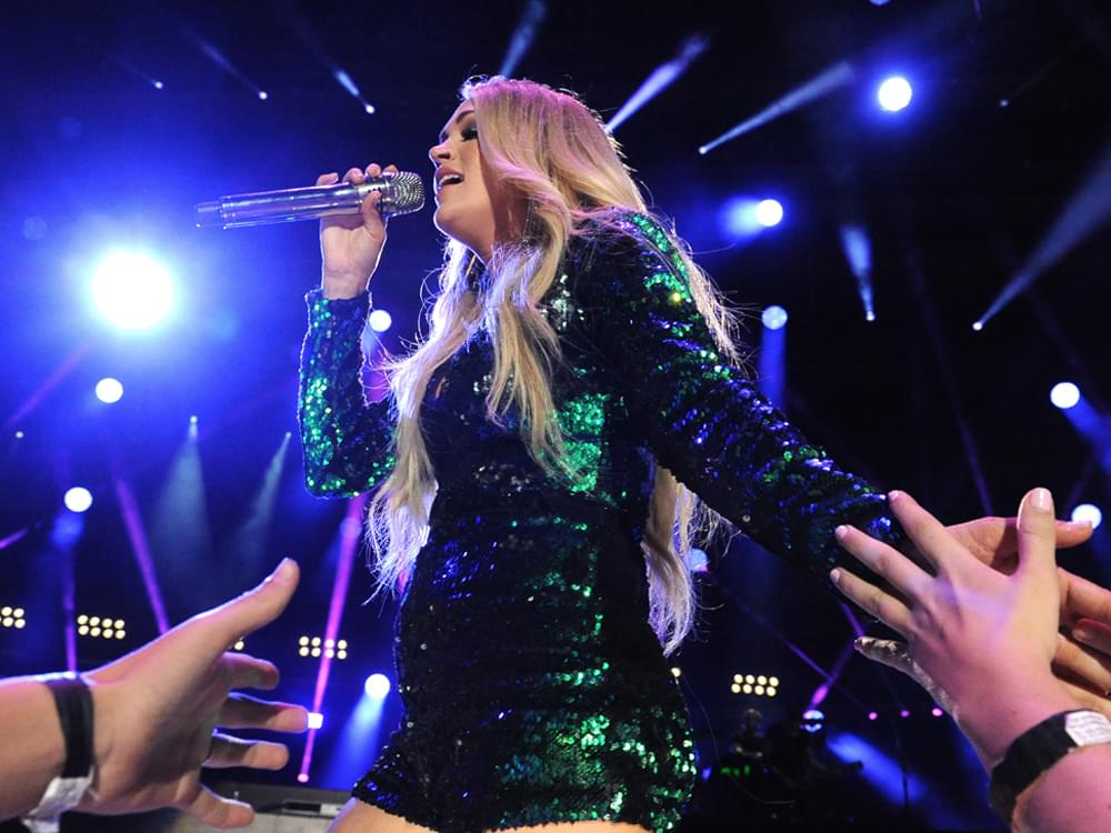 """Watch Carrie Underwood Perform the New """"Sunday Night Football"""" Theme Song, """"Game On"""""""