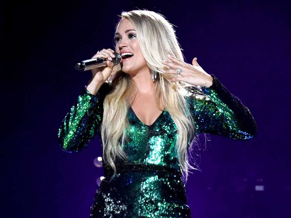 "Carrie Underwood Adds U.K. Dates to Her ""Cry Pretty Tour"""