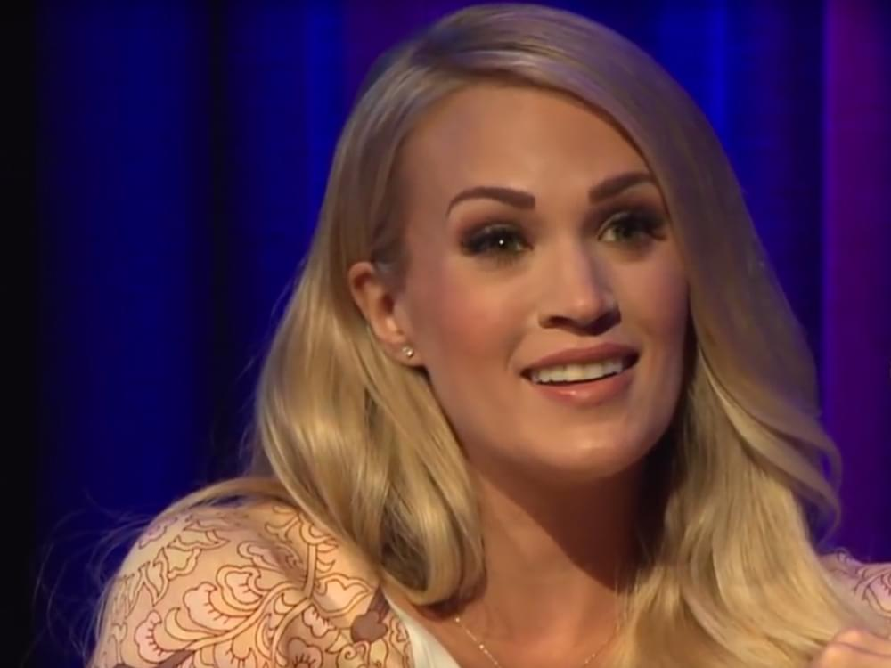 "Watch Carrie Underwood Spread the ""Love"" on ""Ellen"""