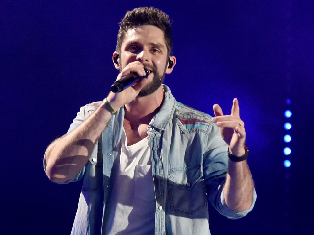 Thomas Rhett Teams With Crown Royal to Benefit U.S. Military