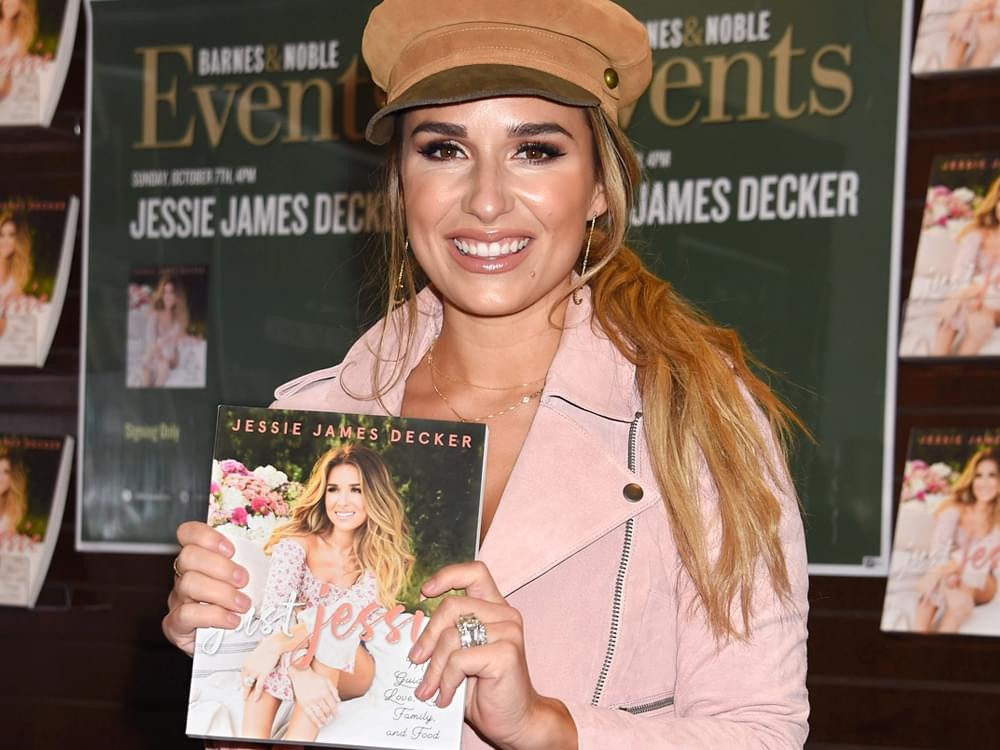 """Jessie James Decker Authors New Book, """"Just Jessie: My Guide to Love, Life, Family & Food"""""""