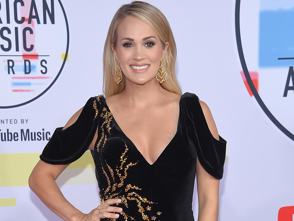 "Watch Carrie Underwood Light Up the AMAs With Her Performance of ""Spinning Bottles"""