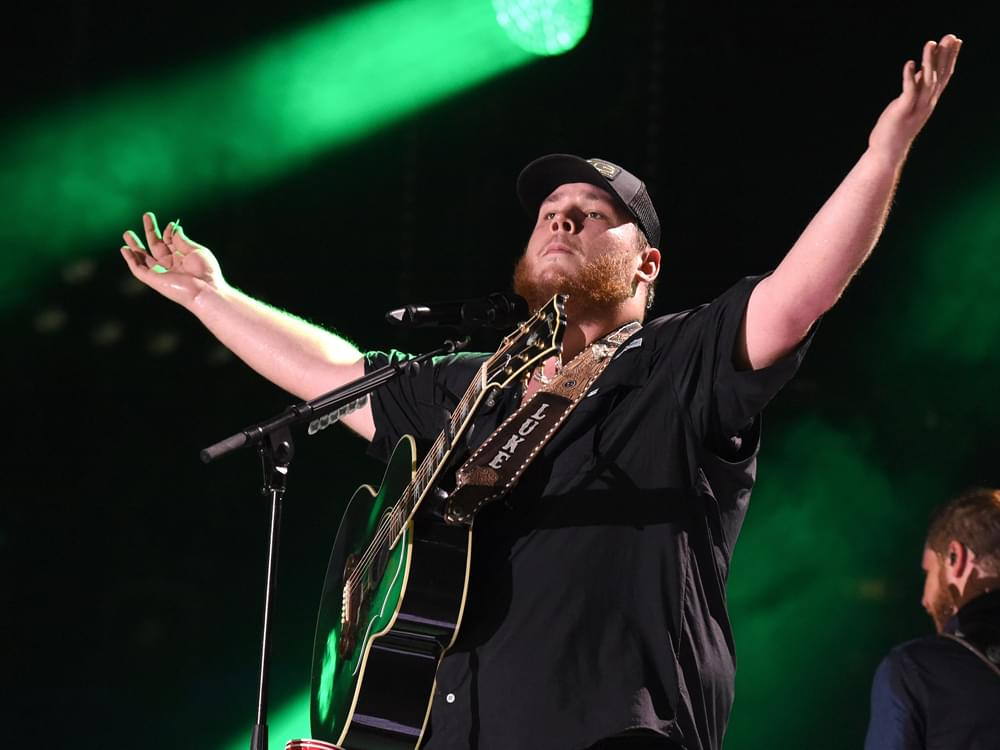 "Luke Combs Makes History With Fourth Consecutive No. 1 Single ""She Got the Best of Me"""