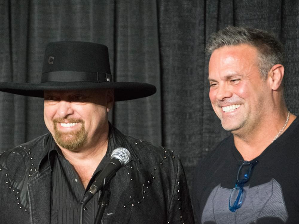 "Montgomery Gentry's New Album, ""20 Years of Hits,"" Features Darius Rucker, Brad Paisley, Granger Smith & More"