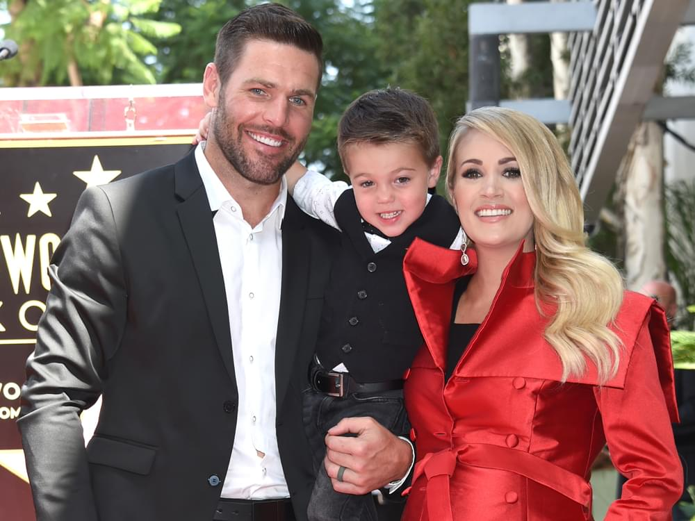 Carrie Underwood & Husband Welcome Baby Boy, Jacob Bryan Fisher