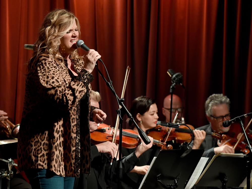 Trisha Yearwood Says She Went With Her Instincts When Recording Sinatra Tribute Album With 55-Piece Orchestra