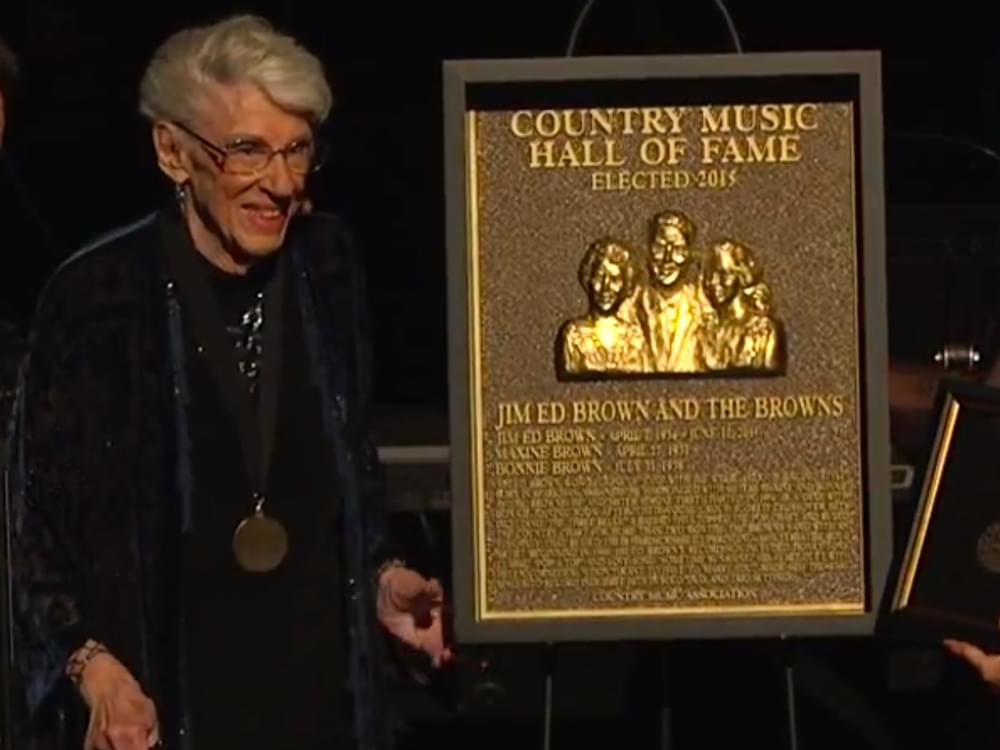 Country Music Hall of Fame Member Maxine Brown of The Browns Has Died