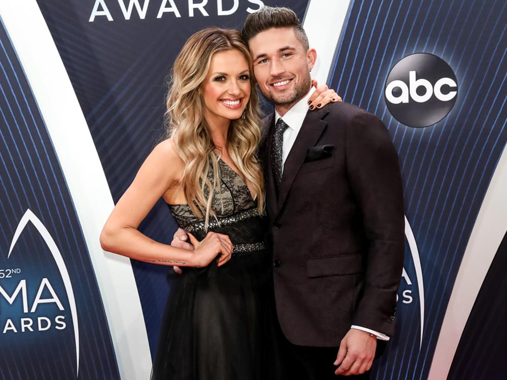 "Michael Ray & Carly Pearce Are Enjoying ""Celebrating Each Other's Dreams"""