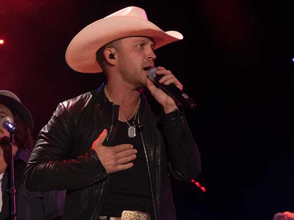 Justin Moore's Memorial Day performance
