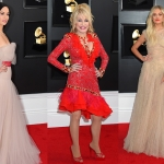 Photo Gallery: Grammy Awards Red Carpet, Including Dolly, Kacey, Maren, Kelsea, Little Big Town, Florida Georgia Line, Chris Stapleton & More