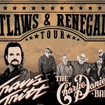 "Travis Tritt & Charlie Daniels Announce New ""Outlaws & Renegades Tour"""
