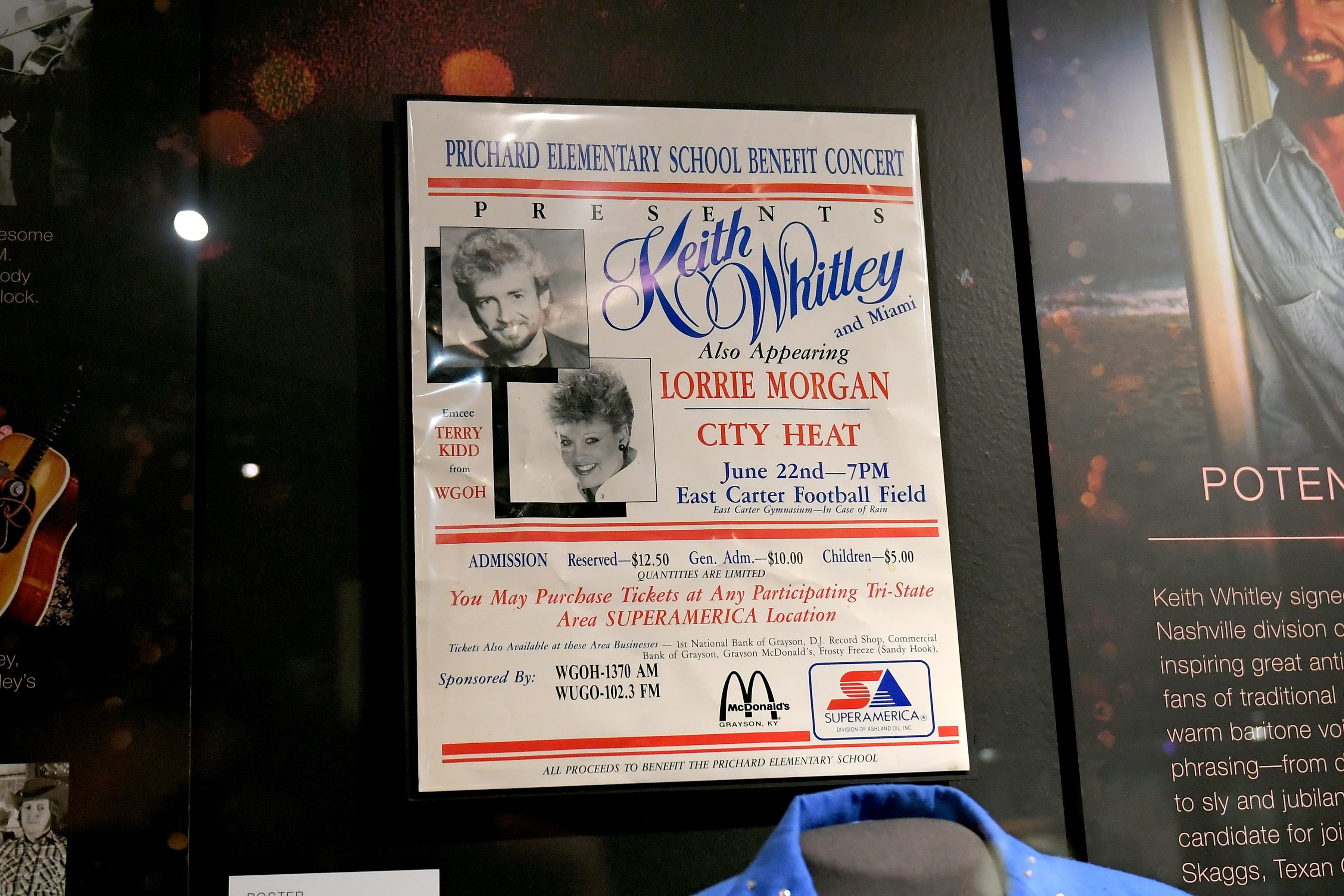 5441b71e Take a Sneak Peek Inside Keith Whitley's New Exhibit at the Country ...