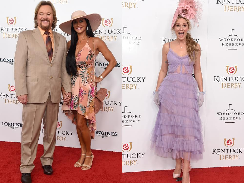 Photo Gallery: Jennifer Nettles, Travis Tritt, Lee Brice, Tracy Lawrence & More Walk the Red Carpet at the Kentucky Derby