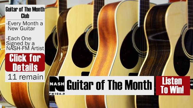 Guitar of the Month Club is BACK!