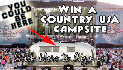 Win a CUSA Campsite with VIP Tickets!