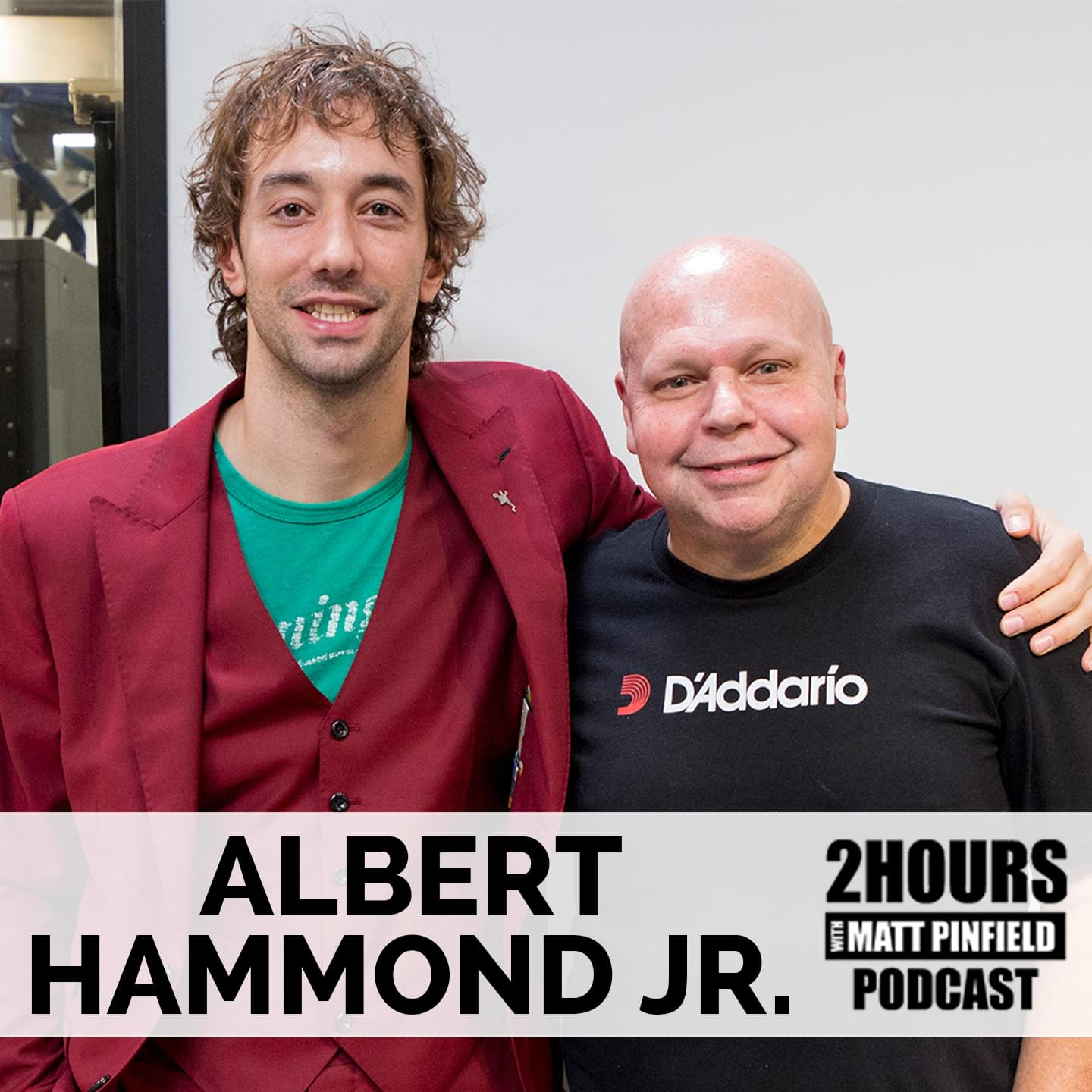 Albert Hammond Jr Pod SQUARE