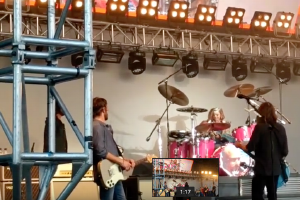 And On Drums…Harper Grohl
