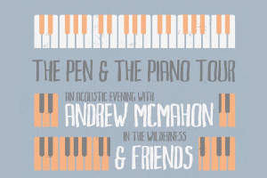 Andrew McMahon in the Wilderness Announces 2018 Tour