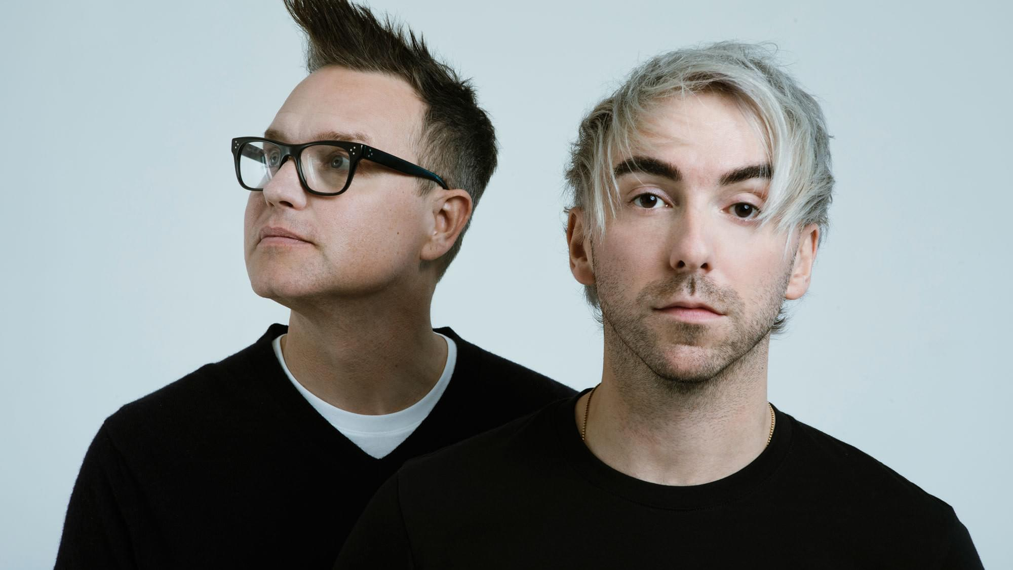 New Duo Alert: Blink-182's Mark Hoppus & All Time Low's Alex Gaskarth Team Up