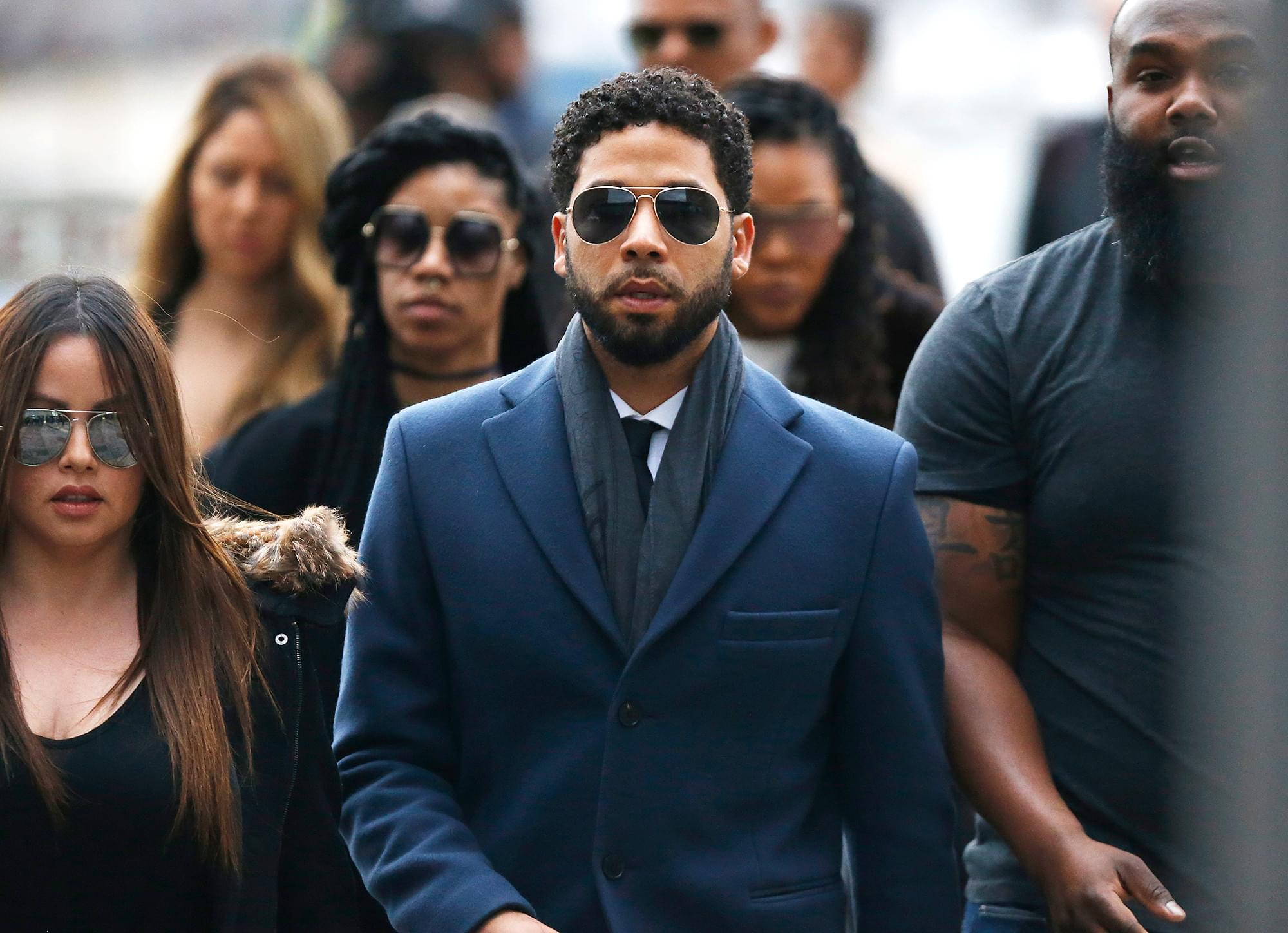 Charges dropped against actor Jussie Smollett