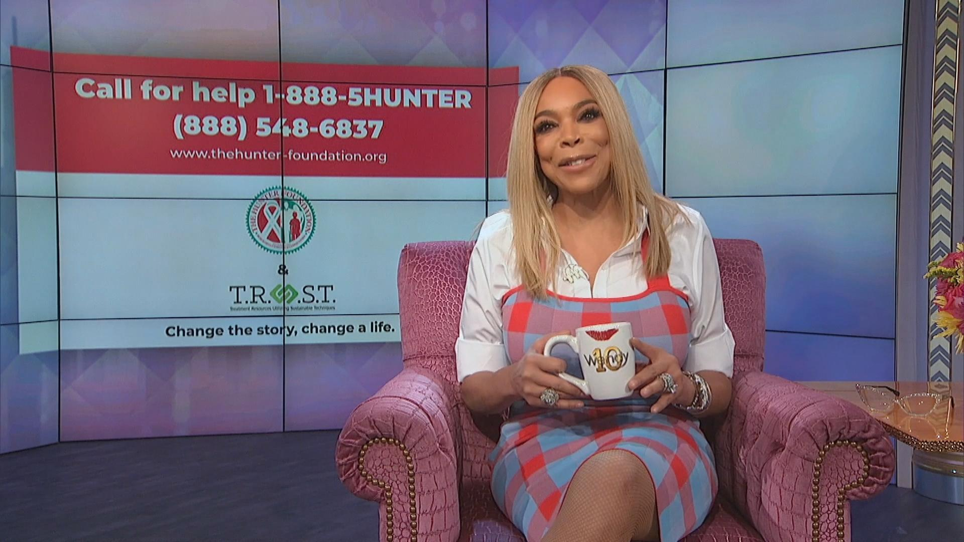 Wendy Williams Claims She's 'Living Proof' That 'There Is Hope' for Addicts and Substance Abusers