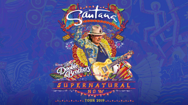 August 9 – Santana with The Doobie Brothers