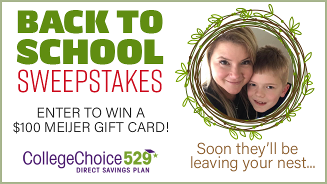 CollegeChoice 529 July Sweepstakes